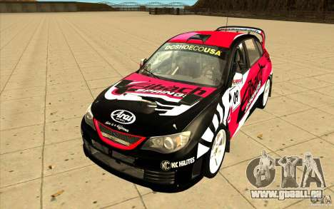Neue Schallplatten bis Subaru Impreza WRX STi für GTA San Andreas