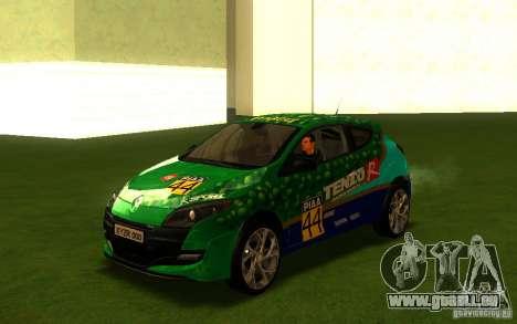 Renault Megane RS pour GTA San Andreas vue de côté