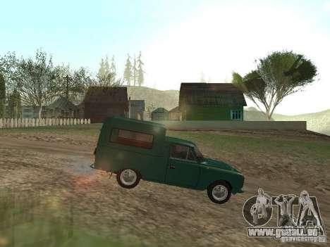 IZH 2715 pour GTA San Andreas laissé vue
