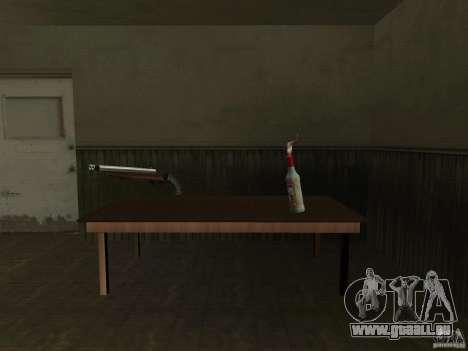 Pak armes domestiques pour GTA San Andreas troisième écran