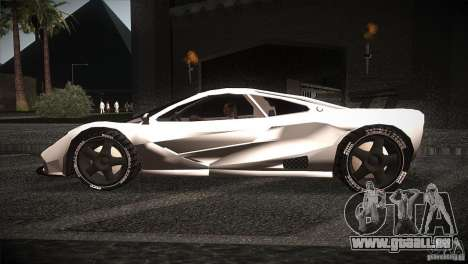 McLaren F1 LM pour GTA San Andreas laissé vue