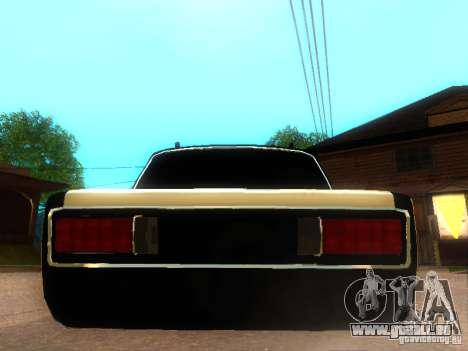 Style de VAZ 2106 dag pour GTA San Andreas sur la vue arrière gauche