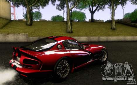 Dodge Viper GTS Coupe TT Black Revel für GTA San Andreas linke Ansicht