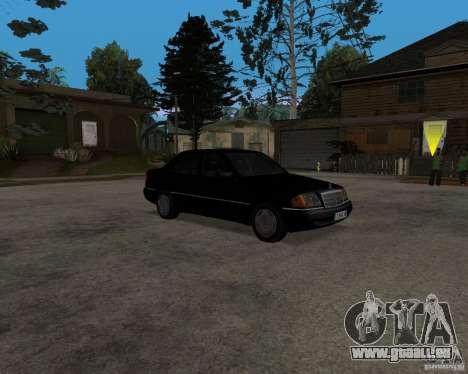 Mercedes-Benz C220 W202 1996 pour GTA San Andreas laissé vue