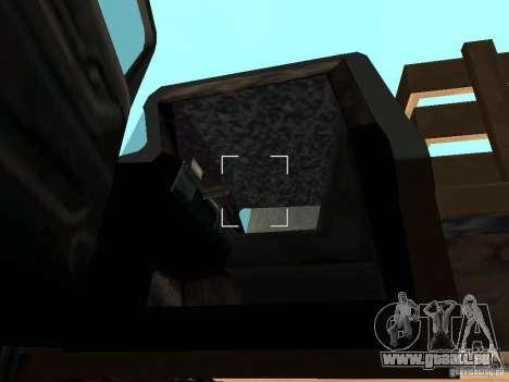 Walton Monster pour GTA San Andreas vue intérieure
