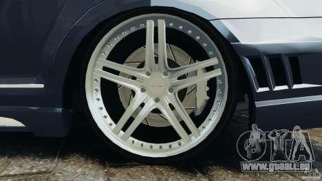 Mercedes-Benz S W221 Wald Black Bison Edition für GTA 4 Innen