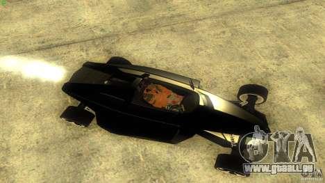 Lamborghini Concept pour GTA San Andreas sur la vue arrière gauche