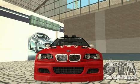 BMW M3 Tunable für GTA San Andreas