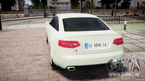 Audi RS6 2010 für GTA 4 hinten links Ansicht