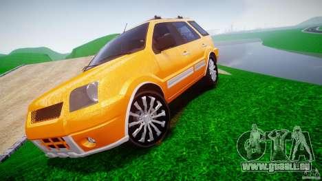 Ford EcoSport pour GTA 4 Vue arrière de la gauche