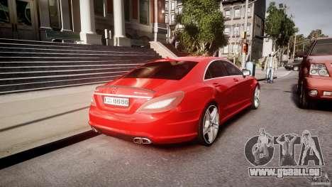 Mercedes-Benz CLS 63 AMG 2012 für GTA 4 Unteransicht