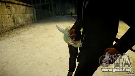 B.A.K. Knife pour GTA 4 troisième écran