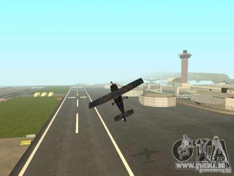 Ein neues Flugzeug-Dodo für GTA San Andreas Unteransicht