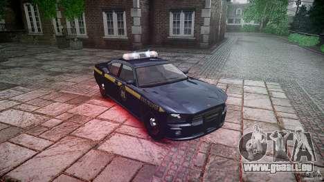 New York State Police Buffalo für GTA 4 Rückansicht