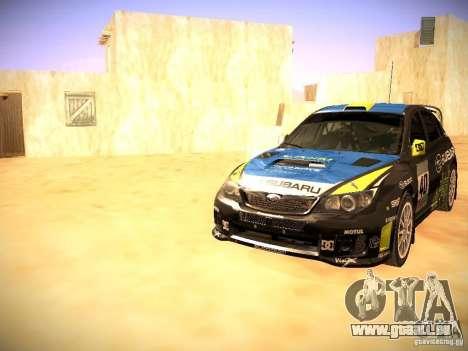 Subaru impreza Tarmac Rally für GTA San Andreas Räder