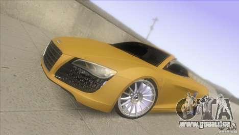 Audi R8 5.2 FSI Spider pour GTA San Andreas