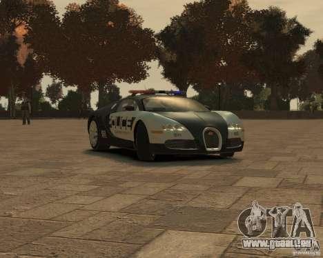 Bugatti Veyron Police [EPM] für GTA 4 linke Ansicht