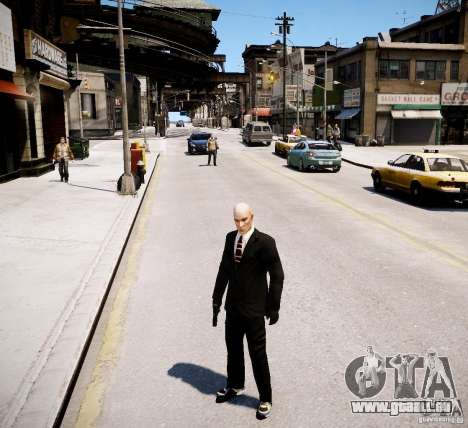 Hitman Blood Money Skin für GTA 4 weiter Screenshot