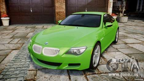 BMW M6 2010 v1.0 pour GTA 4