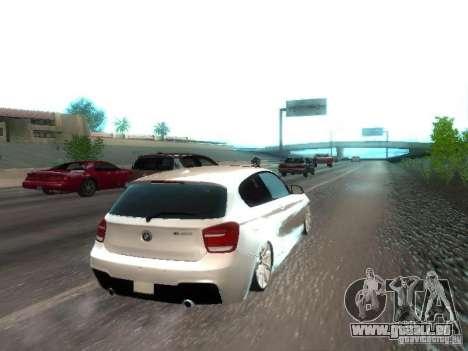 BMW M135i für GTA San Andreas rechten Ansicht
