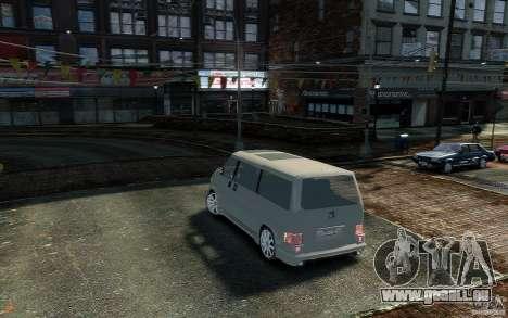Volkswagen Transporter T4 pour GTA 4 est une gauche