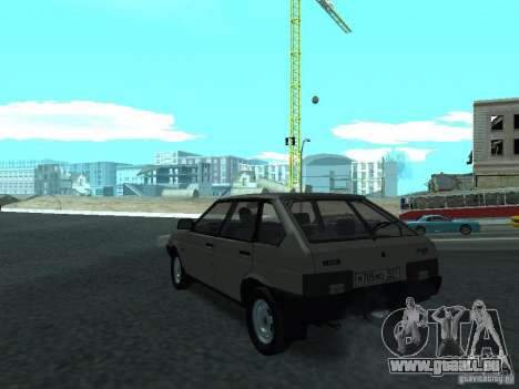 VAZ 2109 CR v. 2 für GTA San Andreas zurück linke Ansicht