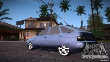 VAZ-2112 LT pour GTA San Andreas sur la vue arrière gauche