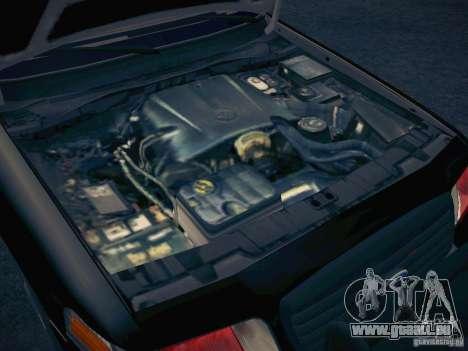 Ford Crown Victoria Police Intercopter für GTA San Andreas obere Ansicht