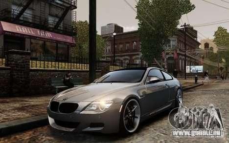 BMW M6 Coupe E63 2010 pour GTA 4