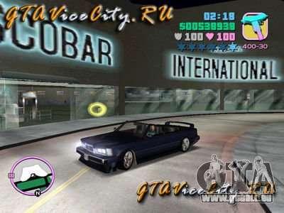 BMW M6 Cabrio für GTA Vice City