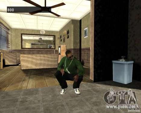 Intérieurs cachés 3 pour GTA San Andreas deuxième écran
