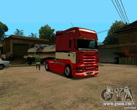 Scania TopLine pour GTA San Andreas laissé vue