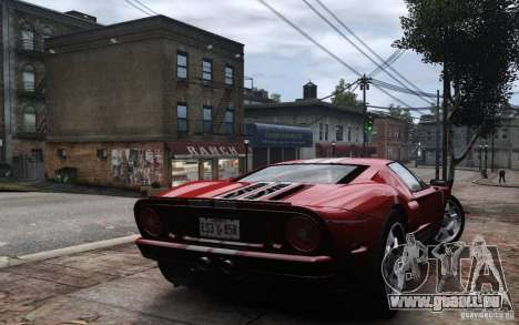 Ford GT 2005 für GTA 4 linke Ansicht