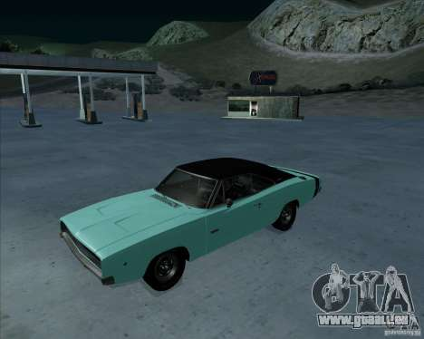 Dodge Charger RT HEMI 1968 pour GTA San Andreas