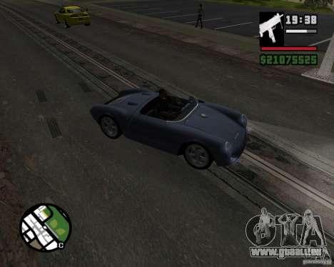Porsche 550 für GTA San Andreas Innenansicht
