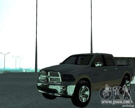 Dodge Ram Hemi pour GTA San Andreas vue de droite