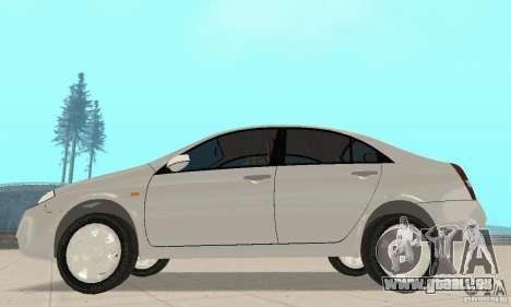 Nissan Primera pour GTA San Andreas sur la vue arrière gauche
