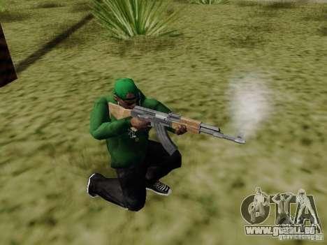 AK-47 de Saints Row 2 pour GTA San Andreas troisième écran