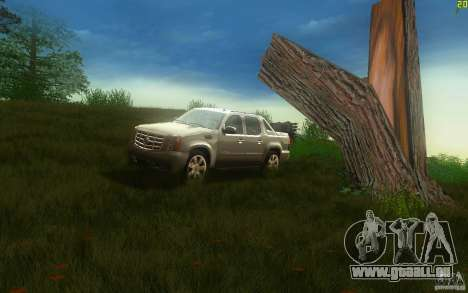 Cadillac Escalade EXT für GTA San Andreas linke Ansicht