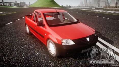 Dacia Logan Pick-up ELIA tuned für GTA 4 Innenansicht