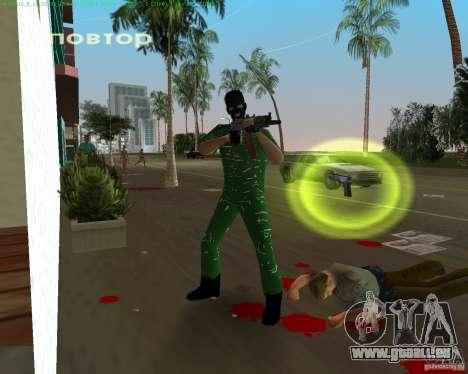 AK-74U für GTA Vice City zweiten Screenshot