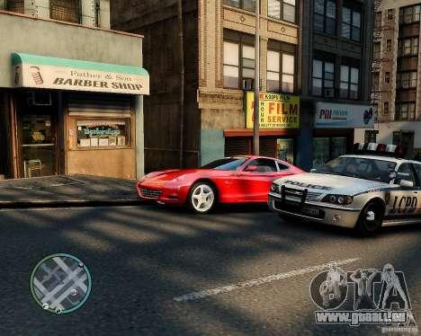 Ferrari 612 Scaglietti für GTA 4 hinten links Ansicht
