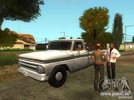 Erneuerung der Klinik Fort Carson für GTA San Andreas her Screenshot