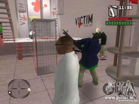 Gangs mod pour GTA San Andreas troisième écran