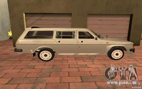 31022 Gaz Touring pour GTA San Andreas sur la vue arrière gauche