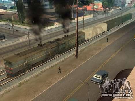 2te10v-4036 für GTA San Andreas Seitenansicht
