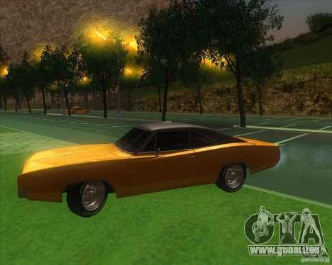 Dodge Charger RT 1968 pour GTA San Andreas vue intérieure