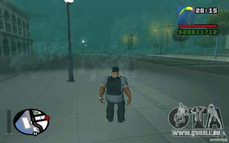 Die neue Fallschirm für GTA San Andreas dritten Screenshot