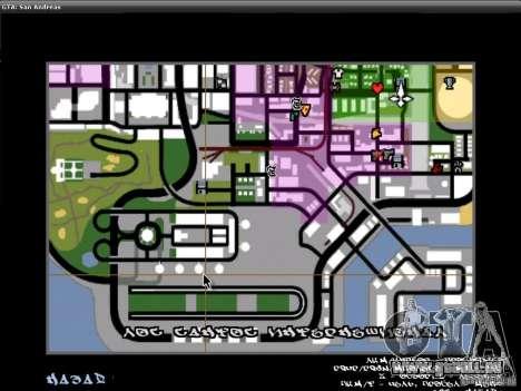 Die Schriftart der NFS-MW-v2 für GTA San Andreas sechsten Screenshot