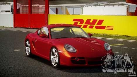 Porsche Cayman S v2 pour GTA 4 est un droit